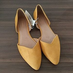 Mustard Yellow Women's Flats